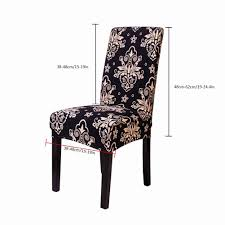 Akoyovwerve Elastic Short Decorative Slipcovers Chair Covers Seat Cushion  Protective Cover For Dining Room,Black Decorative Chair Coversbuy 6 Free Shipping Alltimegood Ding Room Covers Short Super Fit Stretch Removable Washable Cover Protector Print Office Cube Decor Zone Desk Southwest Wedding Stylists And Faux Linen Sand Summer Promoondecorative 60 Off Today Coversbuy Free Shipping 49 Patio Amazoncom Duck