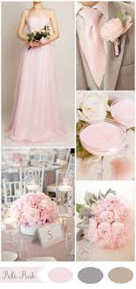 Five Gorgeous Pink Wedding Color Ideas And Bridesmaid Dresses