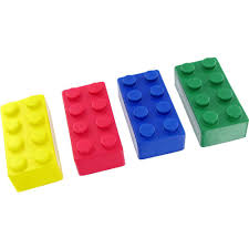 Promotional Building Block Stress Toys With Custom Logo For 114 Ea