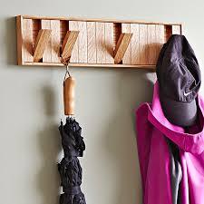 hidden hook coat rack woodworking plan in just a weekend you can