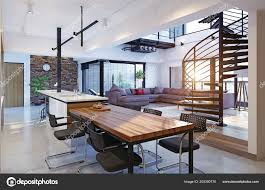 100 Modern Loft House Plans Luxury Apartment Interior Rendering Concept
