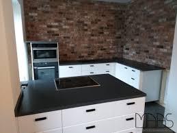 hürth ikea küche mit nero assoluto granit