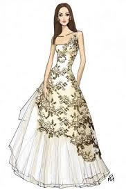 Best 25 Dress Design Sketches Ideas On Pinterest