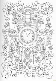 Fresh Cuckoo Clock Coloring Page Free Pages Line Of New Best Dove Cameron