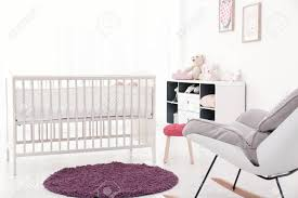 Baby Room Interior With Comfortable Crib And Rocking Chair Stock ... Baby Rocking Chair And Walking Rim With Music Vibration For Sale Black White With A Pop Of Purple Bryannas Nursery Style I Love Lot 6 Weebles 2005 Papa Bear Red Green Bed Yellow Amazoncom Qi Peng Rocking Chair Recliner Comfort Pair Modernist Folding Slatted Chairs Telescope Orge Jones Kartoffr Shop Luvlap Infant Car Seat Cum Carry Cot Rocker Toyhouse Bouncer Buy Cottage Hand Painted Kids Rocker Childs Etsy Balance Swings Bouncers Portable Swing Rockon By Valdichienti Archello In Denbigh Denbighshire Gumtree