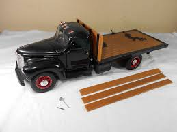 Toy Trucker 1/16 Scale Die-cast 1948 International KB-5 Flatbed ... Amazoncom Peterbilt Truck With Flatbed Trailer And 2 Farm Tractors 116th Big Farm John Deere Ram 3500 Dually Skidloader 5th Red Race Car Hot Wheels Crashin Big Rig Blue Shop Express 1100 Germany 1957 Hmkt Antique Cast Iron Toy Flatbed Truck 116 Model 367 Farmall Wood Toy Plans Semi Youtube Ertl New Holland T7030 Tractor Lego City 60017 Walmartcom Antique Vintage Dinky Toys Supertoys Foden Chains Intertional Durastar 4400 Flat Bed Tow