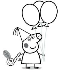 Peppa Pig Pumpkin Carving Ideas by Coloring Pages Finger Coloring Page Basketball Player