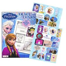 30OFF Disney Frozen Coloring Book Trace And Learn Activity With Stickers