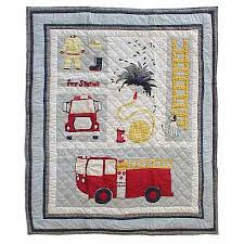 Patch Magic Fire Truck Throw Quilt - THFRTR | Fire Trucks Kidkraft Fire Truck Toddler Bedding 77003 99 Redwhiteblue Baby Quilt Unavailable Launis Rag Firetruck Police Car And Ambulance Panel Amazoncom Carters 4 Piece Bed Set Dalmatian Fighter Crib Adorable Puppy Dalmatians Red White Blue At Artisans Folk Art Antiques Outsider Fireman Engines Trucks On Black Novelty Fabric Fat Boys Firefighter Dog 13 Pc Rescue Perfect Set For A Little Boys Room Kids Home Vintage Twin