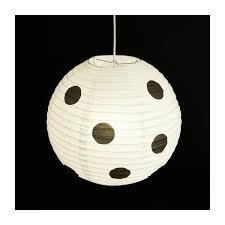 shiro lanterne japonaise en papier à pois habitat