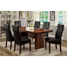 5 Piece Formal Dining Room Sets by Furniture Of America Marcson 7 Piece Counter Height Dining Table