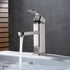 Brushed Nickel Bathroom Faucets Single Hole by Brushed Nickel Bathroom Faucet Ebay