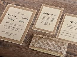 Rustic Wedding Invitation Templates To Inspire You On How Create Your Own 3
