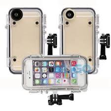 170° Wide Angle Extreme Sports Waterproof Case Cover For iPhone 6