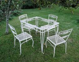 Salterini Iron Patio Furniture by Garden Furniture Plain U0026 Elegant Antiques