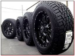 20 Inch Black Truck Rims And Tires