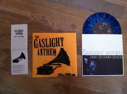 popsike com the gaslight anthem sink or swim demos blue