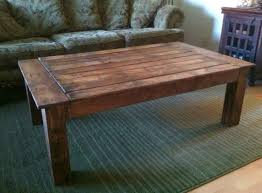 Build Rustic Wood Coffee Table