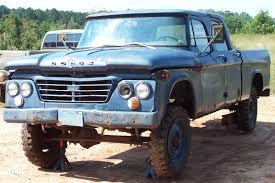 100 1964 Dodge Truck USAF W200 Power Wagon 4x4 Crew Cab Pickup Militaria