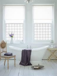 White Shabby Chic Bathroom Ideas by Chic Bathroom Design With Custom Printed Window Film And Glamorous