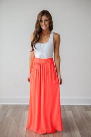 best 25 coral maxi skirts ideas on pinterest coral skirt coral