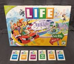 Image Is Loading 2007 The Game Of Life Board Replacement