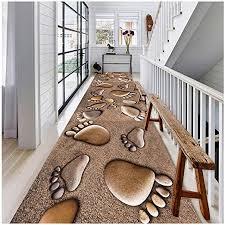 möbel wohnen waschbar teppiche soft schwarz weiß läufer