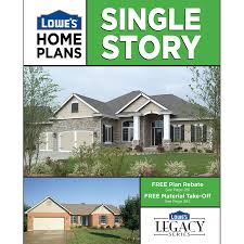 Lowes Homes Plans by Shop Single Story Home Plans At Lowes