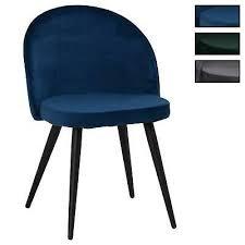 esszimmerstuhl aus samt stoff stühle esszimmer küchenstuhl stoffbezug im 2er set