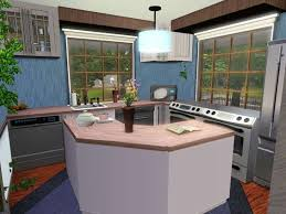Sims 3 Ps3 Kitchen Ideas by Kitchen Island Sims 4 Houses Pinterest Sims