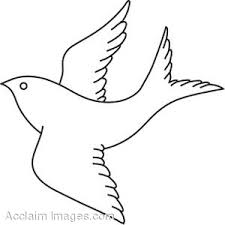 Flying Bird Coloring Pages