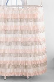 Pink Ruffled Window Curtains by 25 Best Ruffle Shower Curtains Ideas On Pinterest Lace Ruffle