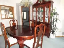 Cherry Wood Dining Room Set