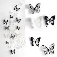 Wall Art Designs Butterfly Classical Animal 3d