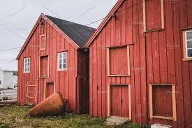 100 Houses In Norway Red Barn In