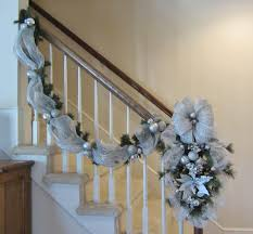 Ideas Collection Christmas Garland With Lights For Stairs On ... Home Depot Bannister How To Hang Garland On Your Banister Summer Christmas Deck The Halls With Beautiful West Cobb Magazine 12 Creative Decorating Ideas Banisters Bank Account Season Decorate For Stunning The Staircase 45 Of Creating Custom Youtube For Cbid Home Decor And Design Christmas Garlands Diy Village Singular Photos Baby Nursery Inspiring Stockings Were Hung Part Adams
