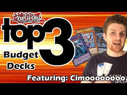 yugioh top 3 budget decks of the january 2015 format youtube