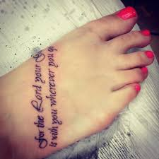 Girly Scorpion Tattoos On Foot