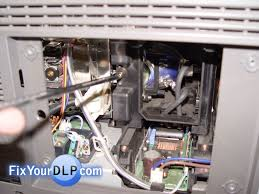 how to replace samsung l enclosure for your dlp tv resource