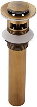 weare home antik messing finished alle messing retro design stil badezimmer accessoires pop up ventil ablaufgarnitur waschbecken ablauf mit überlauf
