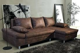 but canapé d angle convertible avec coffre de rangement canape d angle marron chocolat canape dangle convertible 2 pl cuir