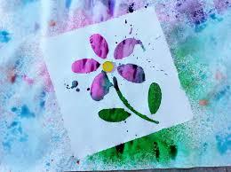 Spray Bottle Art For Kids Liquid Watercolor Crafts