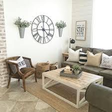 superb modern farmhouse living room lighting brown curve armchair