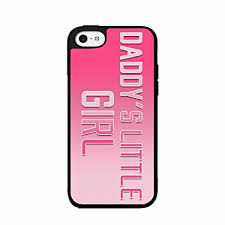 Amazon Daddy s Little Girl Plastic Phone Case Back Cover