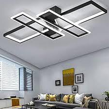 led deckenleuchte modern wohnzimmer licht pendelleuchte dimmbar 94w creative aluminium acryl design le decke fixture beleuchtung wohnzimmerle