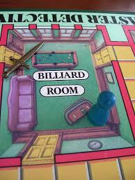 Clue Board Game Billiard Room