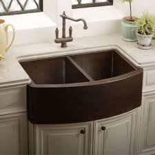 Elkay Copper Bar Sink by Elkay Ecuf3319ach Gourmet Undermount Apron Front Double Bowl