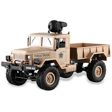 100 Camera Truck FY001A 116 24G 4WD Military Offroad RC Car With 03MP WiFi