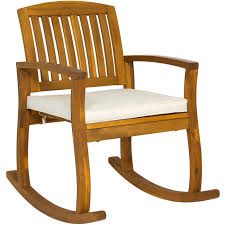 BestChoiceProducts: Best Choice Products Outdoor Patio Acacia Wood Rocking  Chair W/ Removable Seat Cushion | Rakuten.com Bargain Bin Rocking Chair Seat Cushion Size Xl Assorted Nonreturnable Senarai Harga Cotton Autumn How To Choose The Best Set Home Decor Appealing Cushions Inspiration As Ding J16 Rocking Chair Seat Cushion In Luxury Leather 2018 Chairs Orleans Avocado Green Orleansrkrcush W Ties Granite Natural Solid Color Jumbo Xxl Extralarge Tufted Reversible Made Usa Gripper Polar Chenille Sand Fniture Dazzling Design Of Sets For Glider Rocker