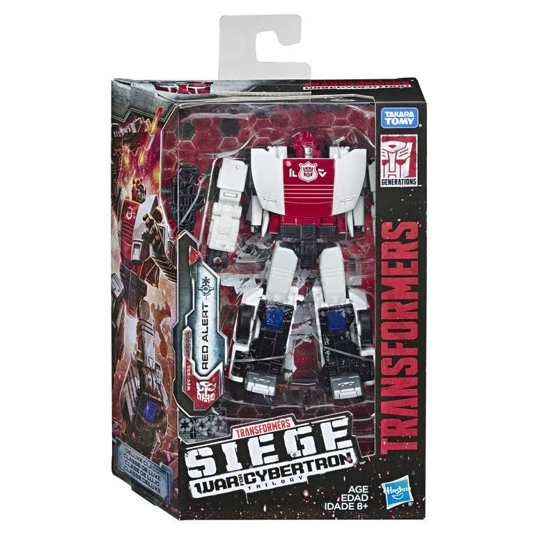 Hasbro Red Alert Transformers Generation War Cybertron Action Figure